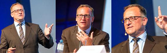 Speaker Gunther Wolf bei Vortrag und Podiumsdiskussion in Linz (Fotos: Dr. Roland Pelzl)